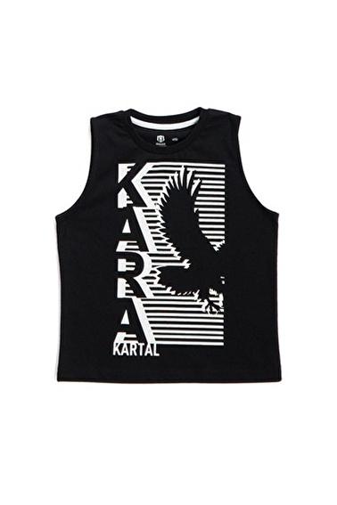 Beşiktaş Beşiktaş Lisanslı Çocuk T-Shirt Siyah Siyah